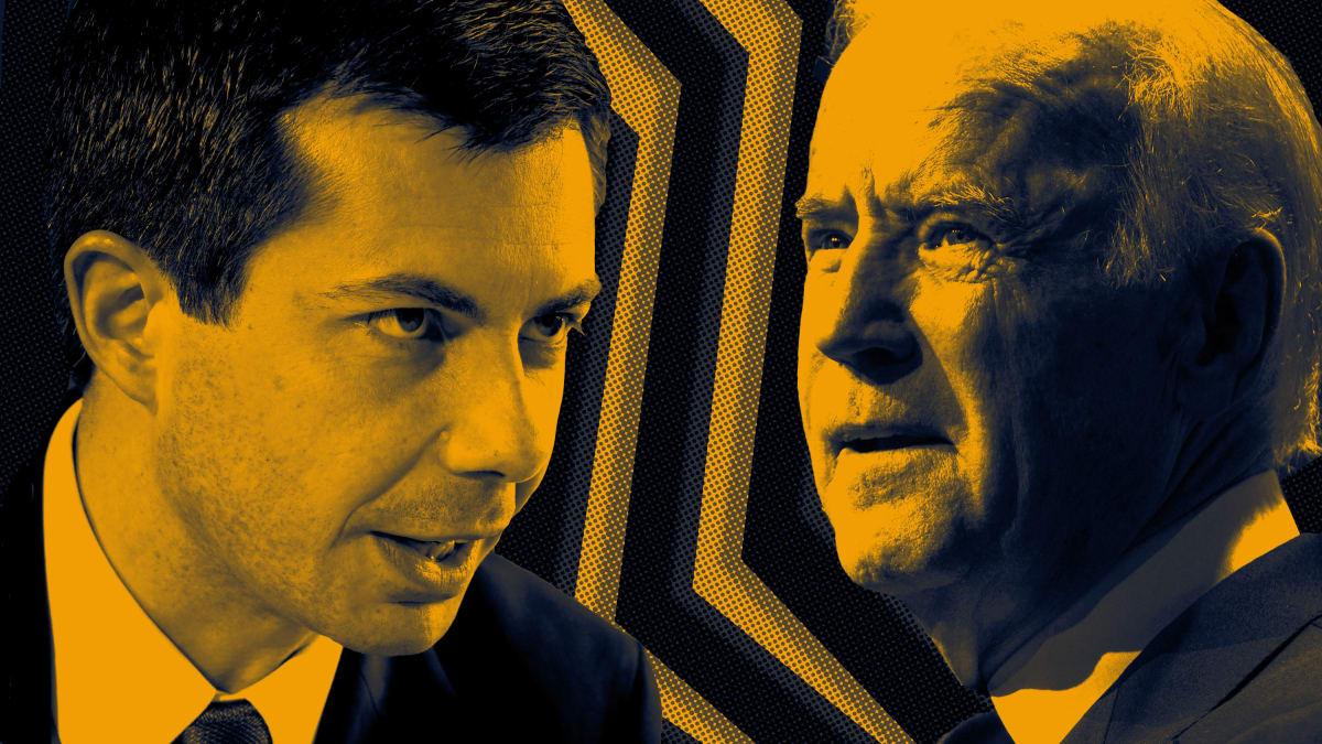 Joe Biden and Mayor Pete Buttigieg's 2020 Cold War Suddenly Burns Hot