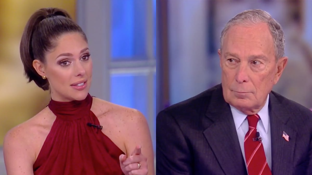 'The View' Host Abby Huntsman Confronts Michael Bloomberg Over 'Sexist' Comments and NDAs