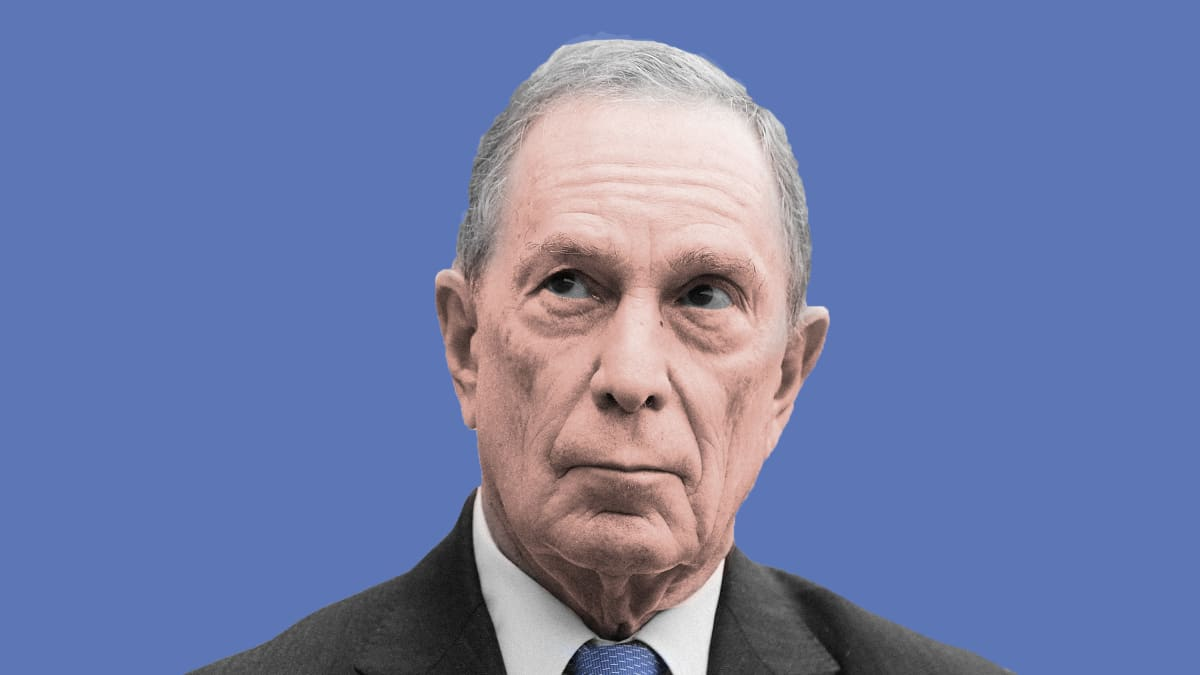 You Think Donald Trump's a Danger to Democracy? Get a Load of Mike Bloomberg.