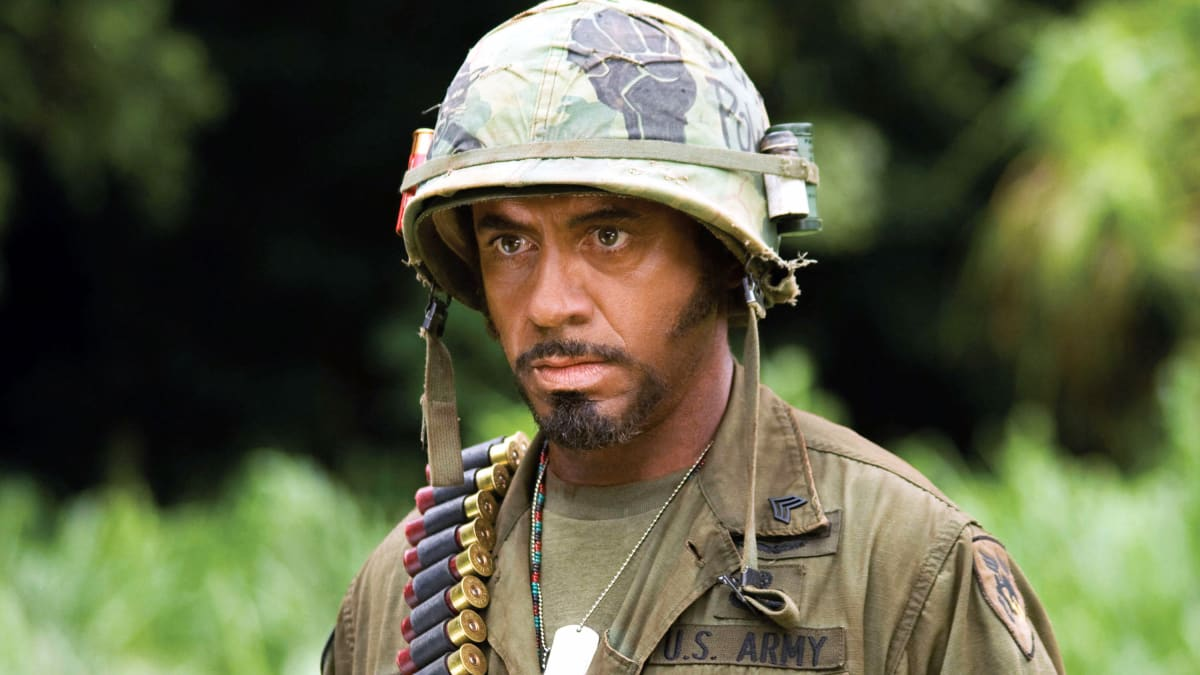 Robert Downey Jr.: 'Tropic Thunder's' Blackface Was a Hit with '90 Percent of My Black Friends'