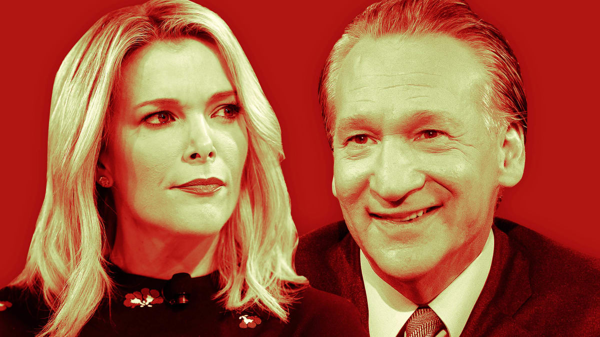 Bill Maher Defends Megyn Kelly to Her Face, Says She's Not a 'Racist' and Blames 'Cancel Culture' for Firing
