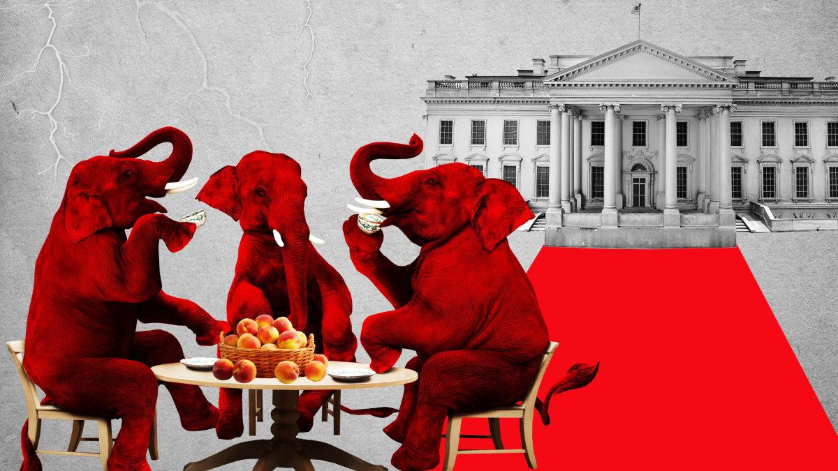 The GOP's DGAF Impeachment Defense