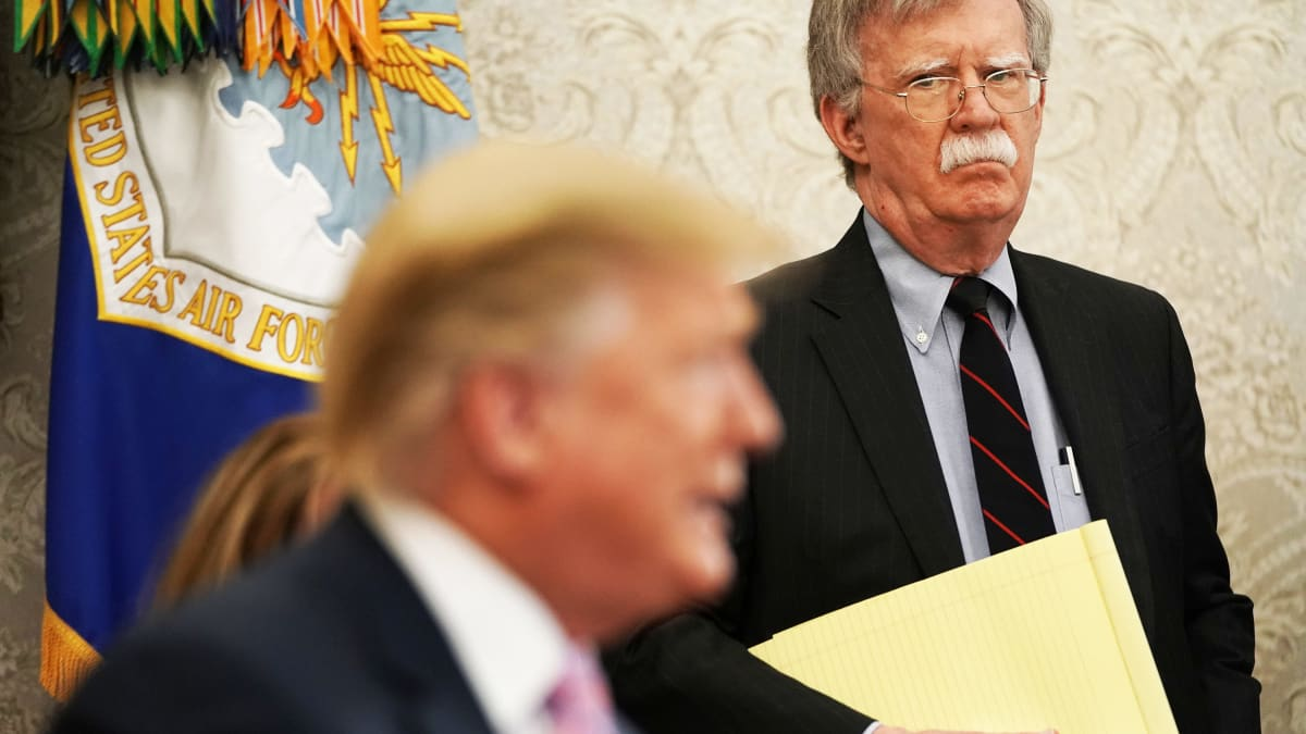 John Bolton's Calling the Shots Now, and Trump and Mitch McConnell Are Shitting Bricks