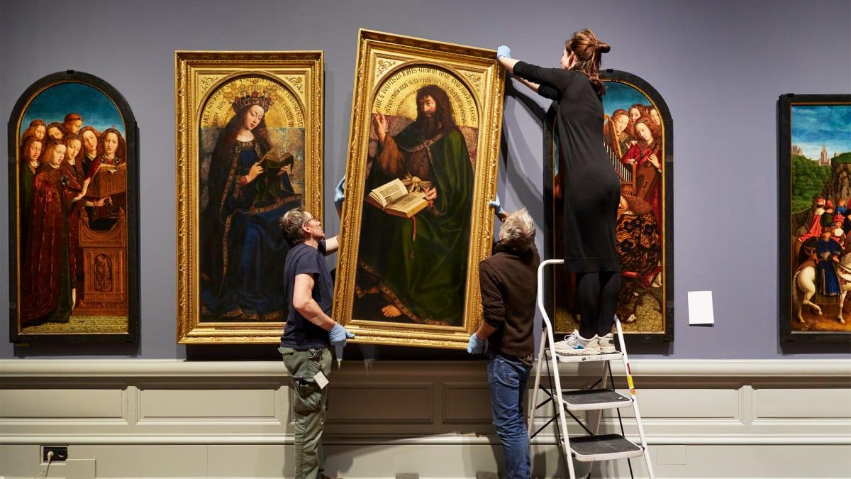 Ghent Altarpiece's Multimillion Dollar Restoration Reveals Portions Hidden for Centuries