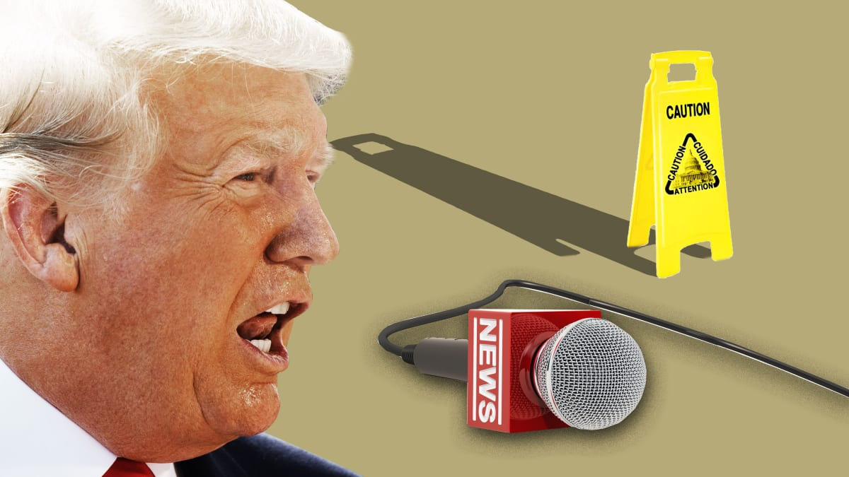 Thanks to Trump's Attacks, Journalists Now Have an Official 'Safety Kit'