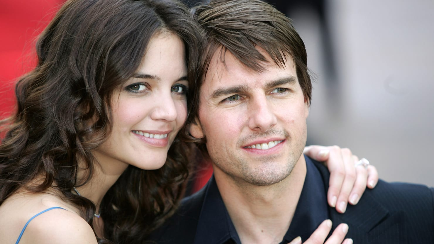 tom cruise�s strange hold over katie holmes from