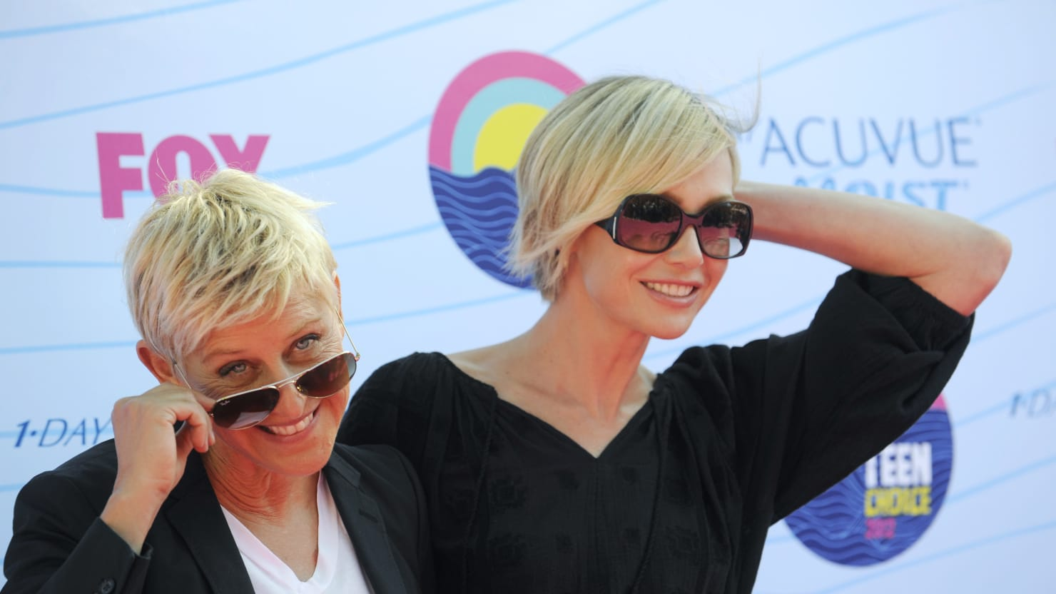 Ellen Stands by Wife Portia De Rossi, Who Claims Steven Seagal Exposed Himself to Her