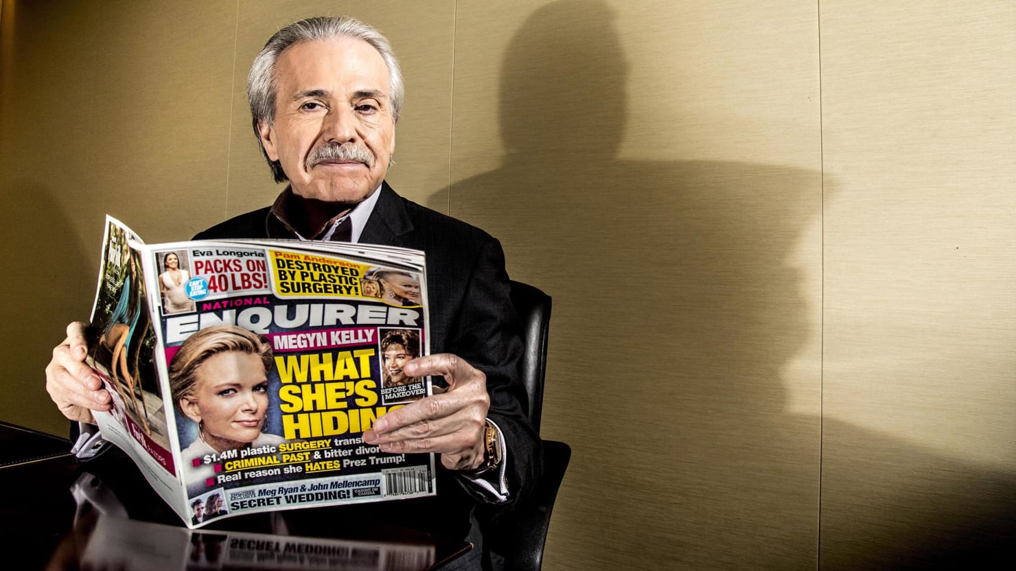 QnA VBage How David Pecker Built His Tabloid Empire on Fear