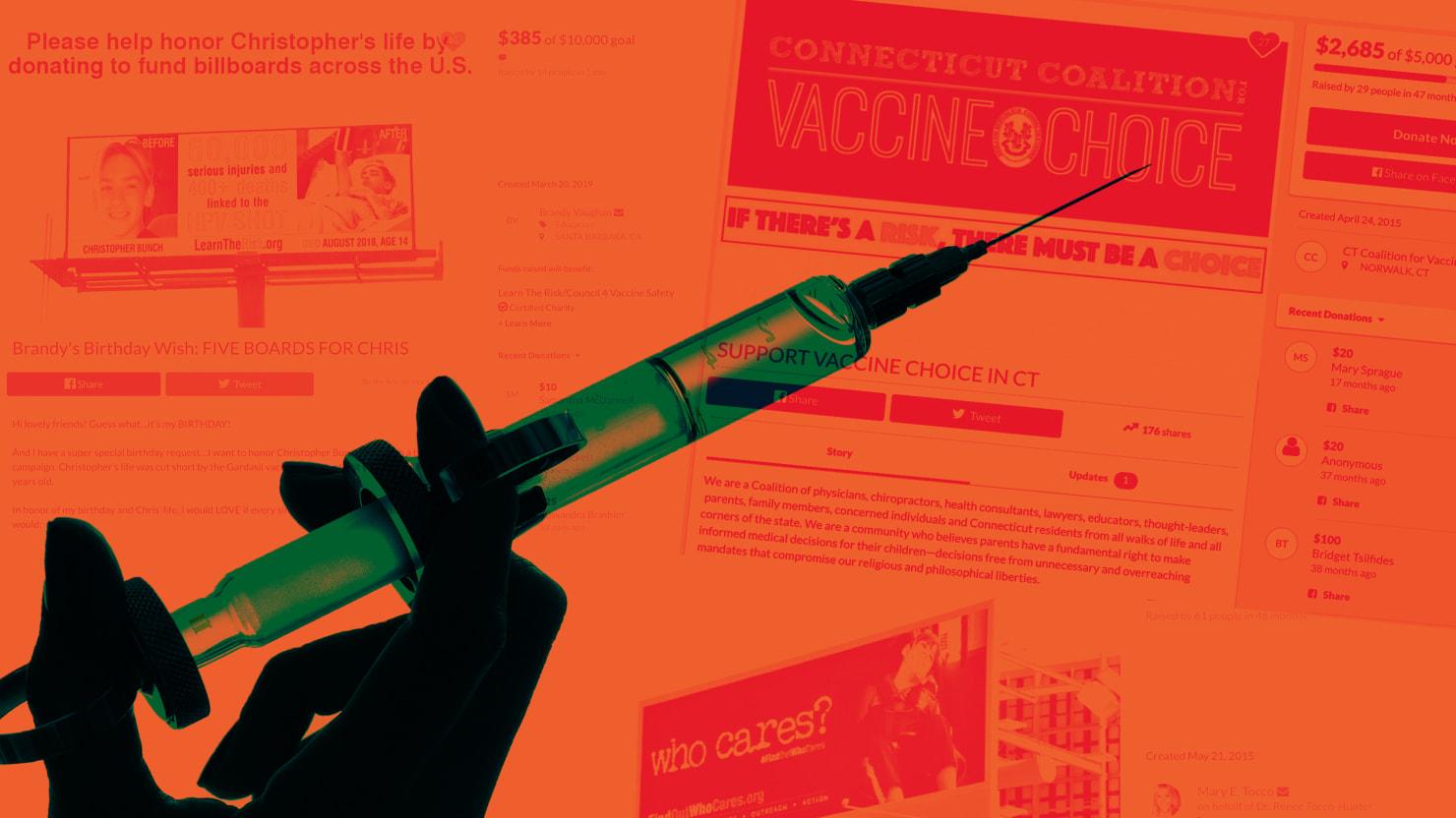 GoFundMe Bans Anti-Vaxxers Who Raise Money to Spread Misinformation