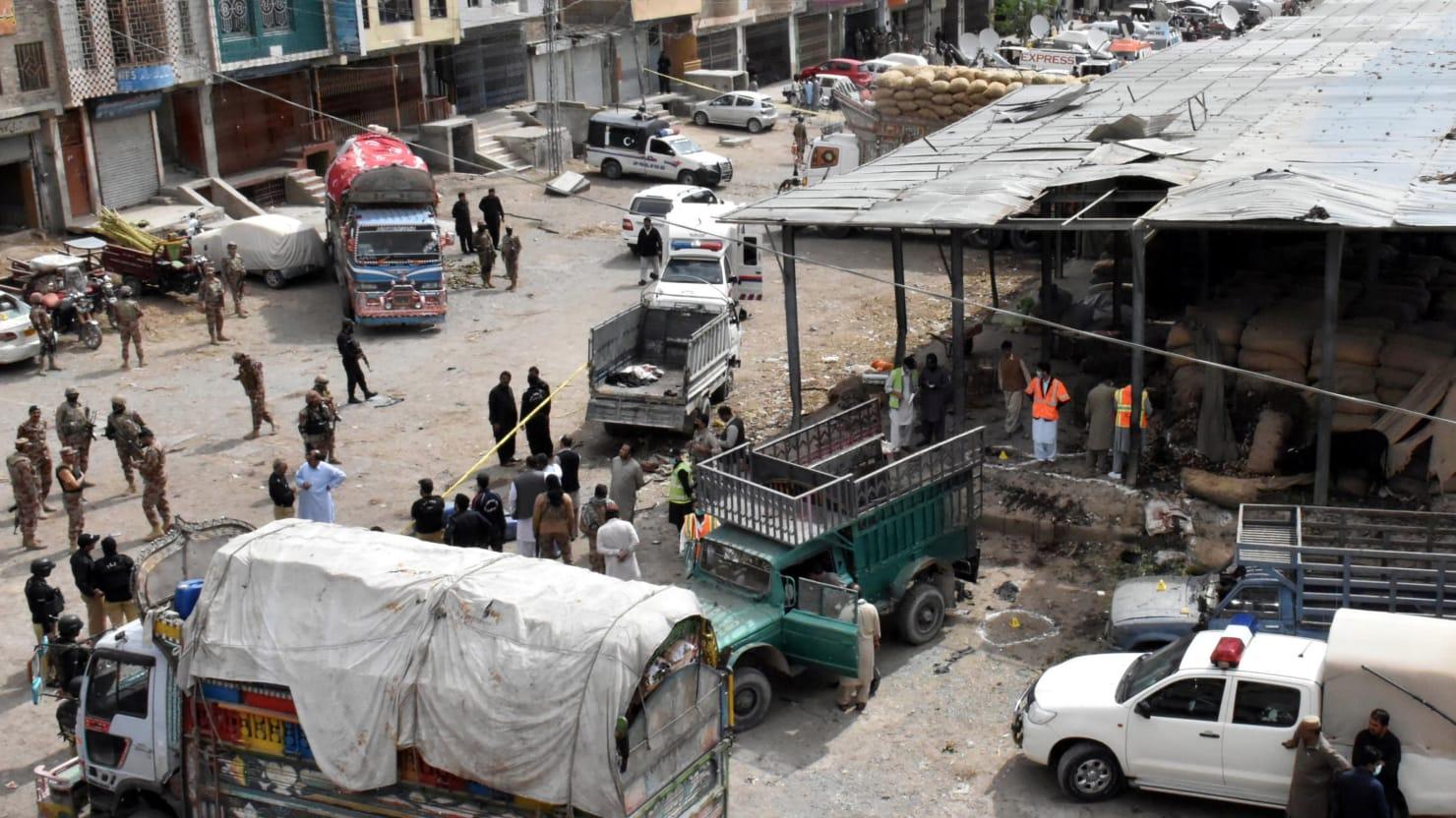 Bomb 'Hidden in Sack of Potatoes' Kills at Least 20 in Pakistan