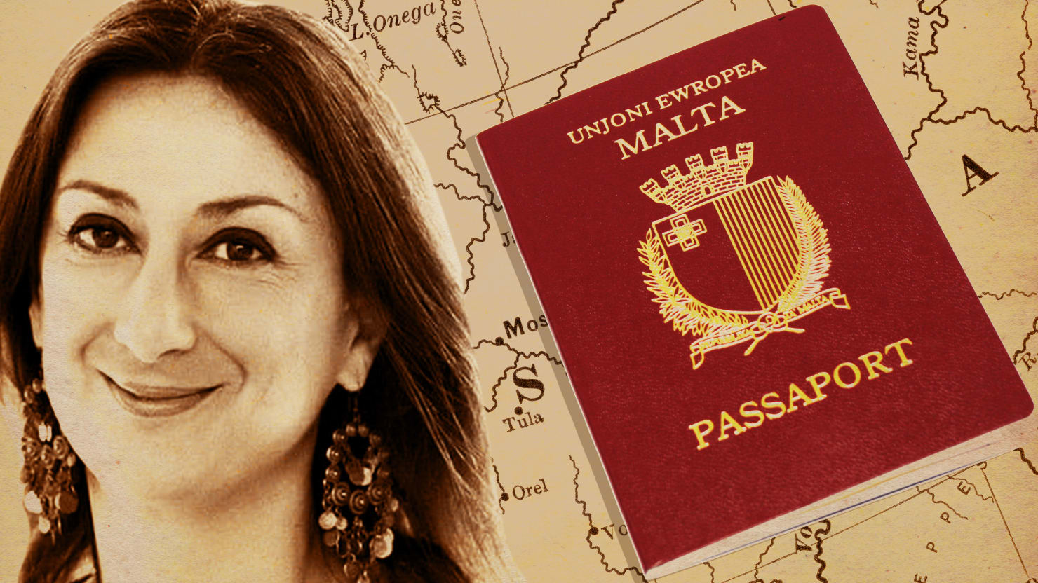 Rich Russians Still Buying Passports in Racket Daphne Caruana Galizia Died Exposing