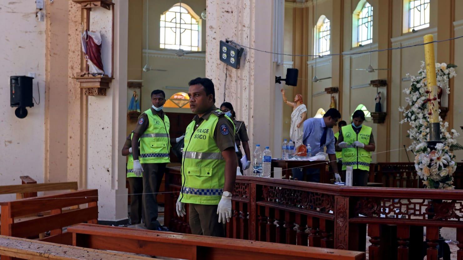 Sri Lanka Blames Islamic Militants National Thowheed Jamath for Deadly Easter Bombings