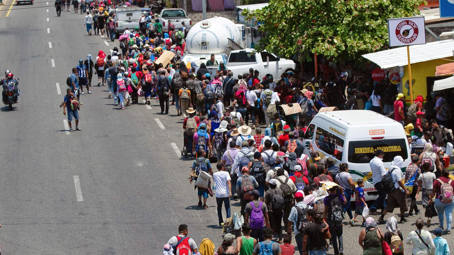 Migrant Caravan: Mexican Authorities Detain Hundreds in Raid