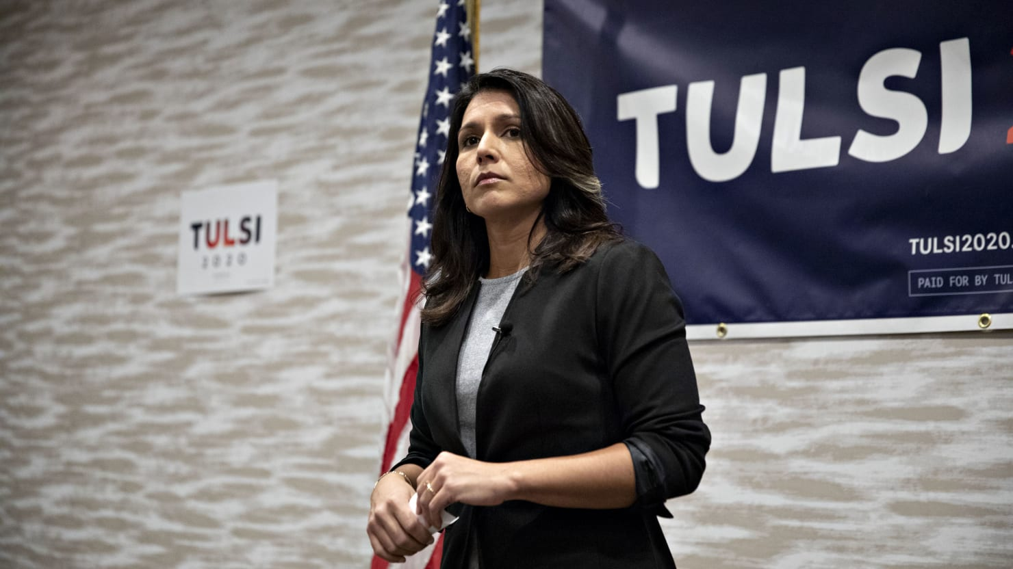 Tulsi Gabbard Is Running a 2020 Presidential Campaign on ...