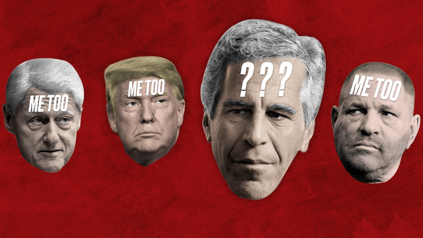 How Did Trump and Clinton Pal Jeffrey Epstein Escape #MeToo?