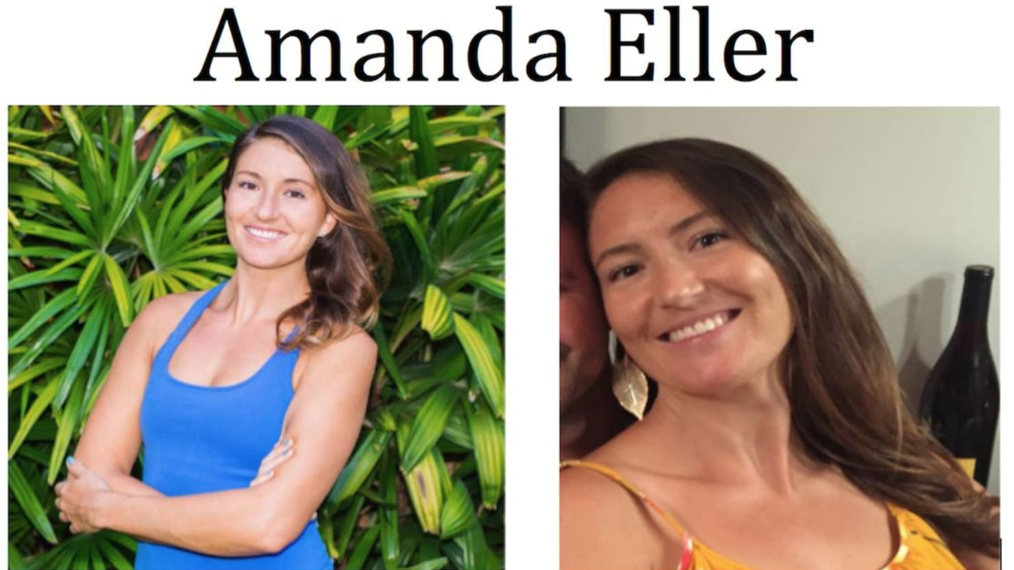 Yoga Teacher Amanda Eller Founda Alive in Hawaiian Ravine