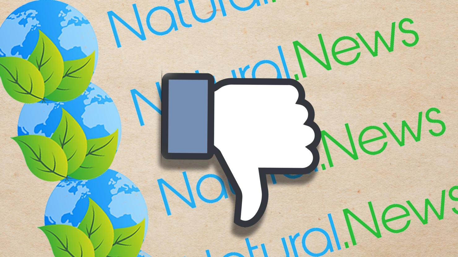 Facebook Removes Conspiracy Site Natural News