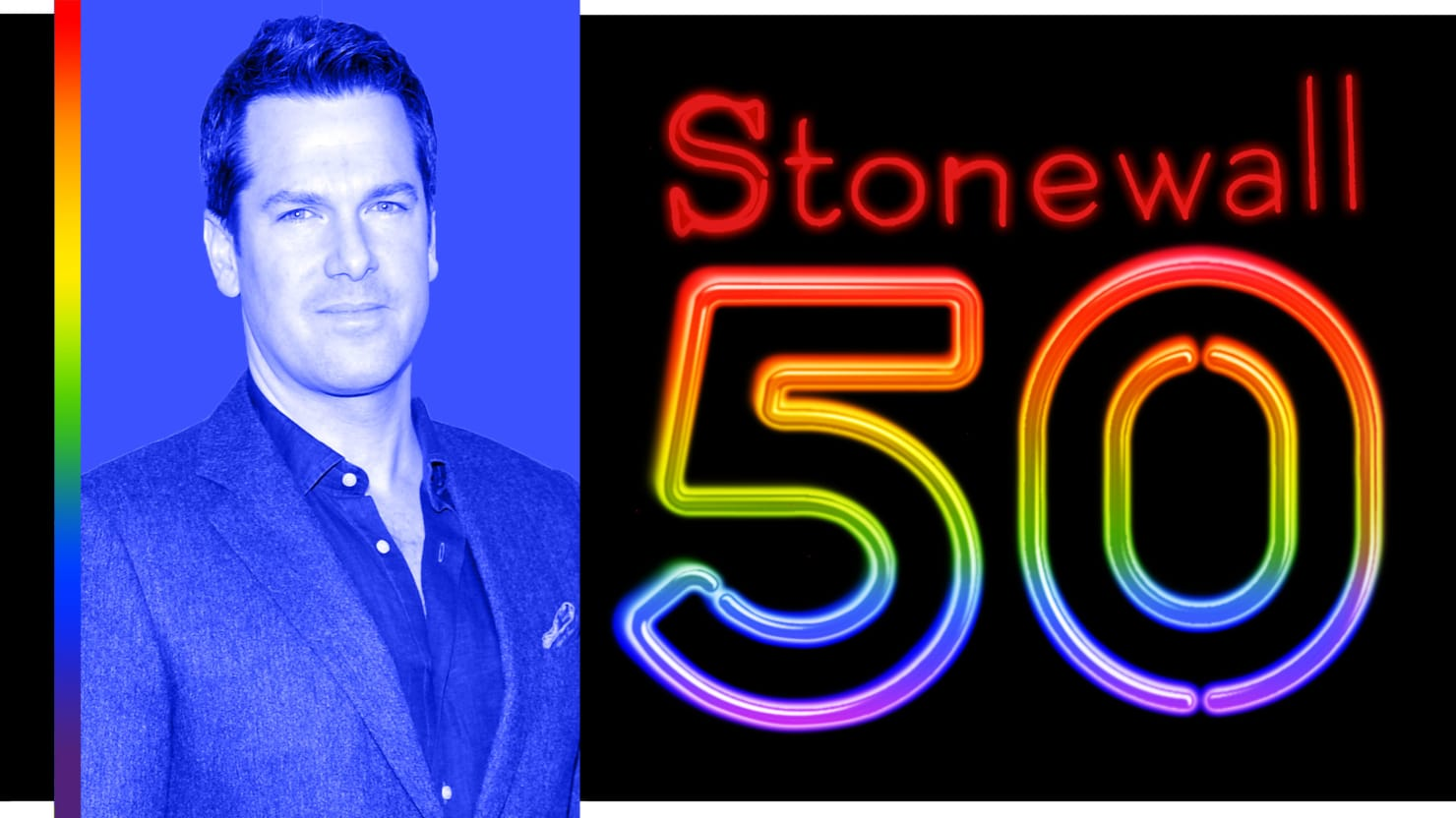Thomas Roberts on Stonewall 50: 'I Want LGBTQ Kids to Know It's OK. It's OK to Be Different, and OK to Be Gay'