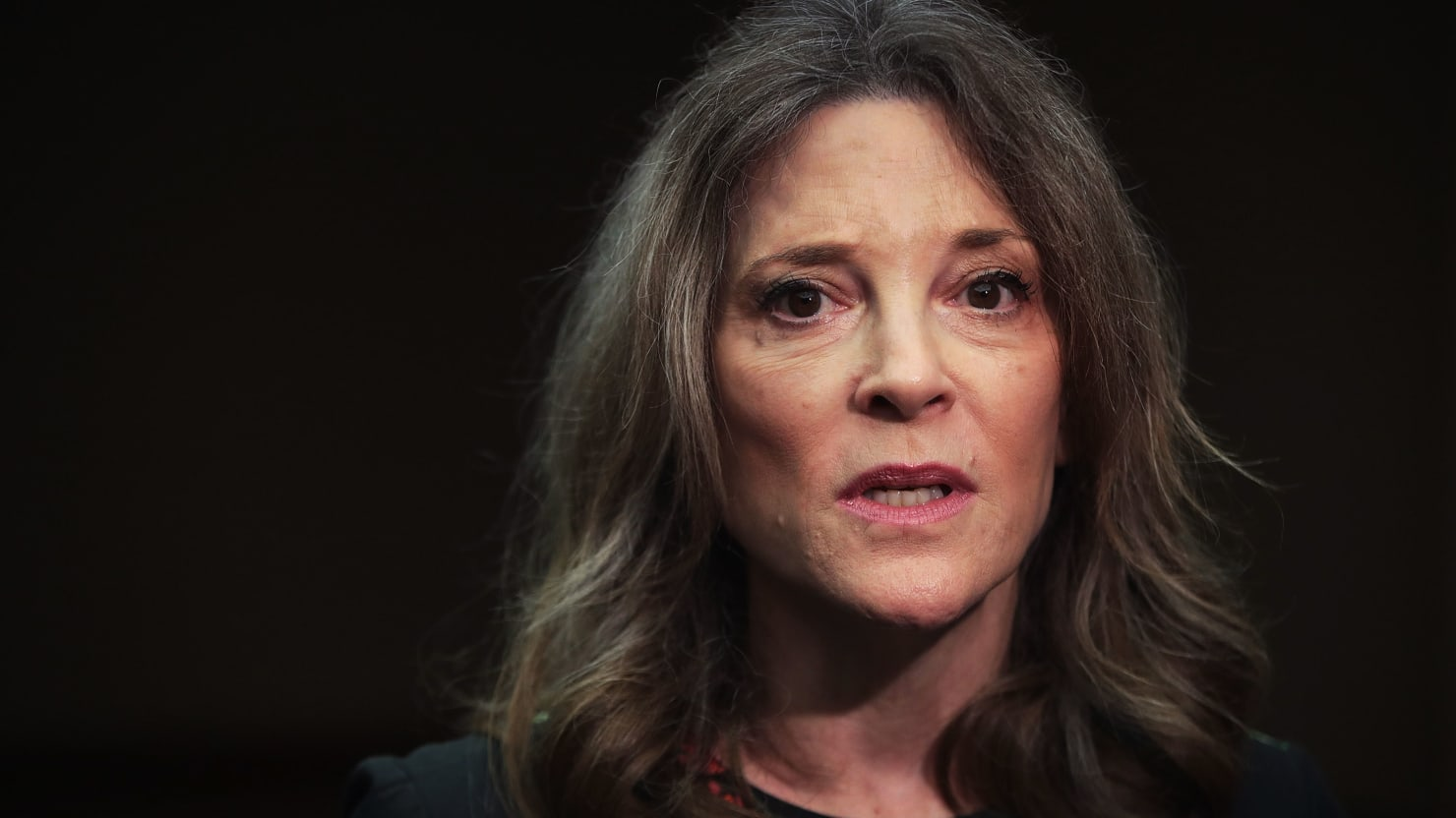 After a Far-Out Debate, Marianne Williamson Returns to Her 'Soul Base'