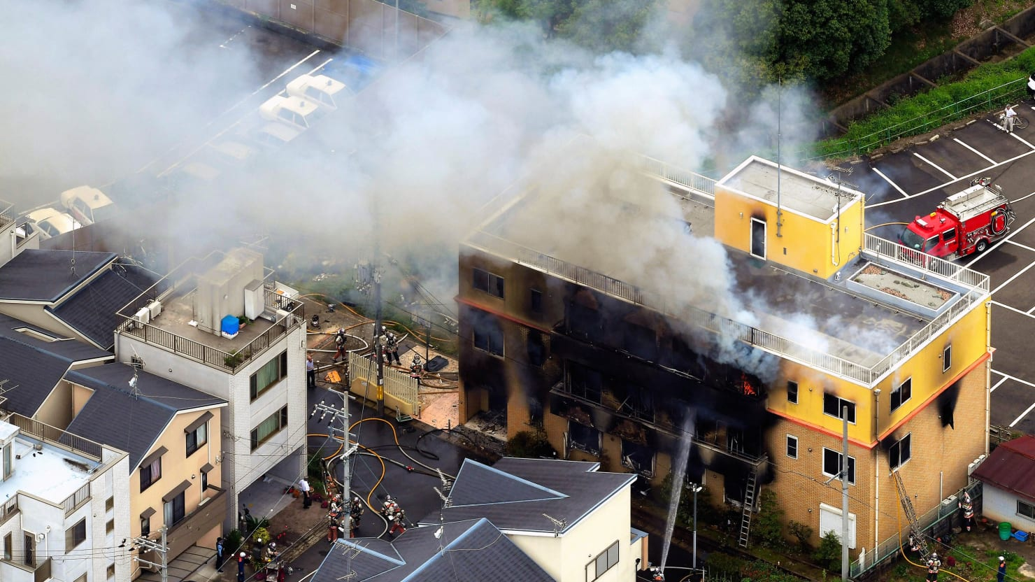 A Crazed Arsonist Just Killed 33 People at a Great Japanese Anime Studio