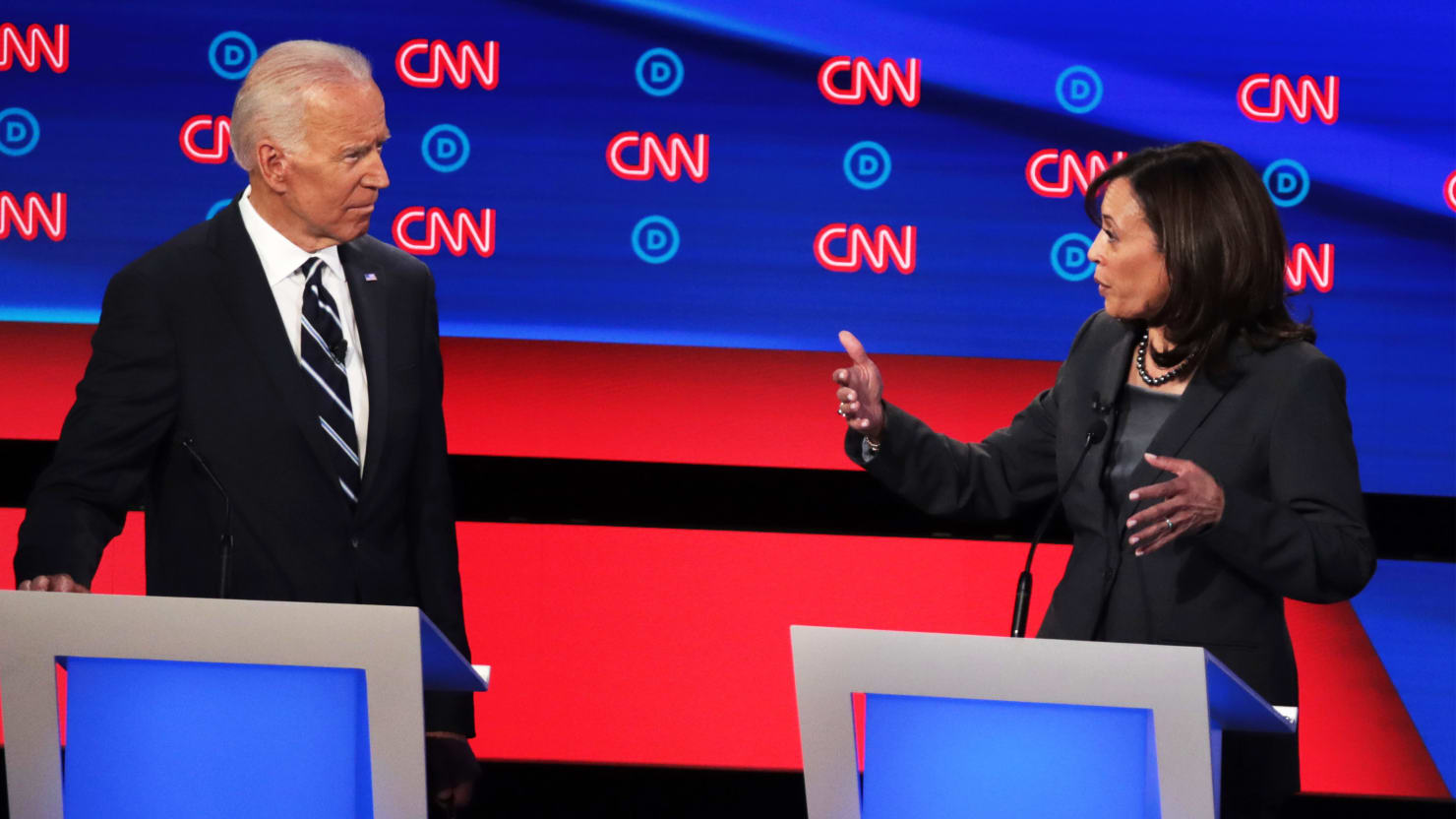 Joe Biden Asked Kamala Harris to 'Go Easy on Me.' Neither She Nor Anyone Else Did.