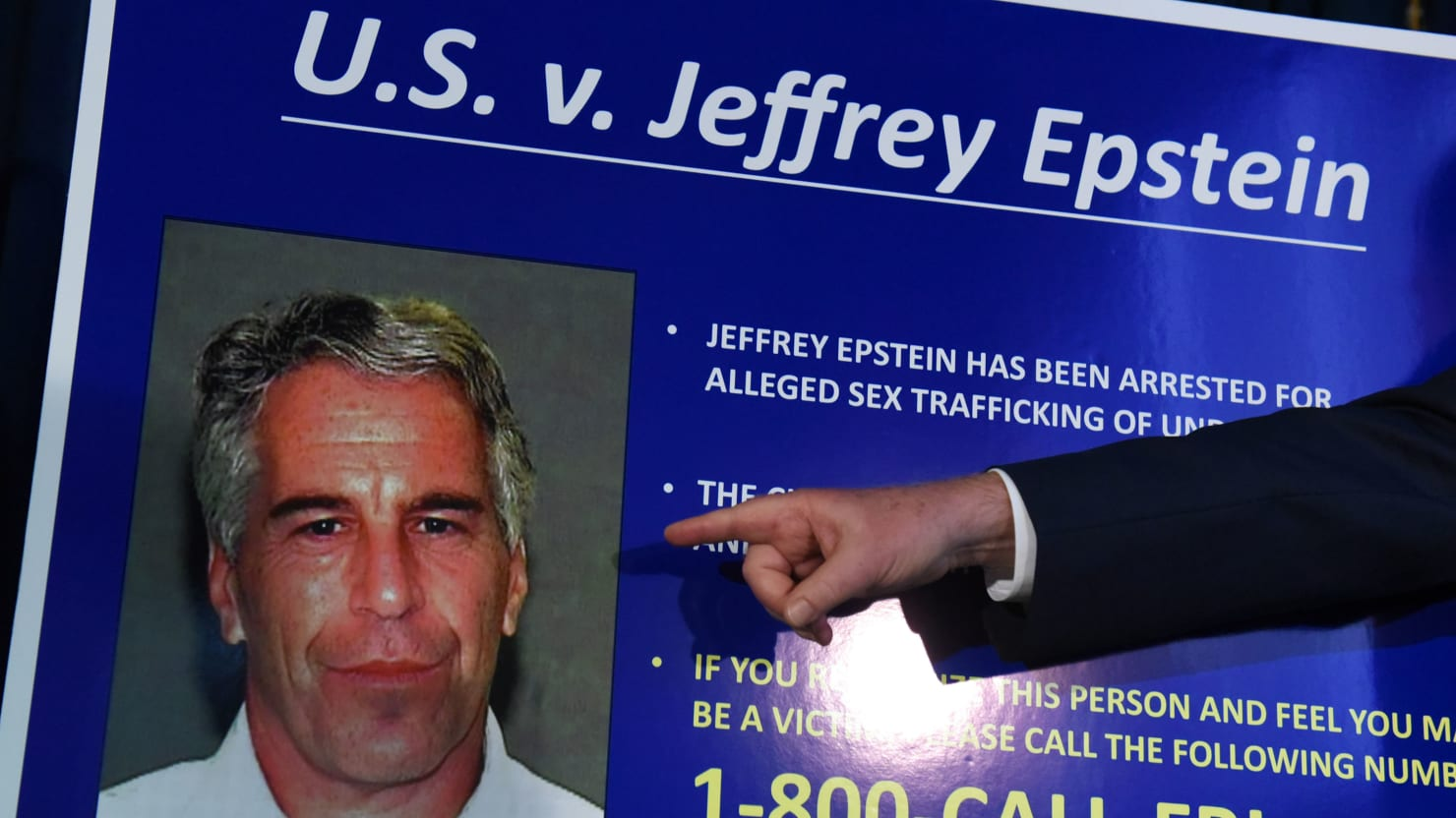 Epstein Victim From Criminal Case Sues His Estate After Charges Vacated