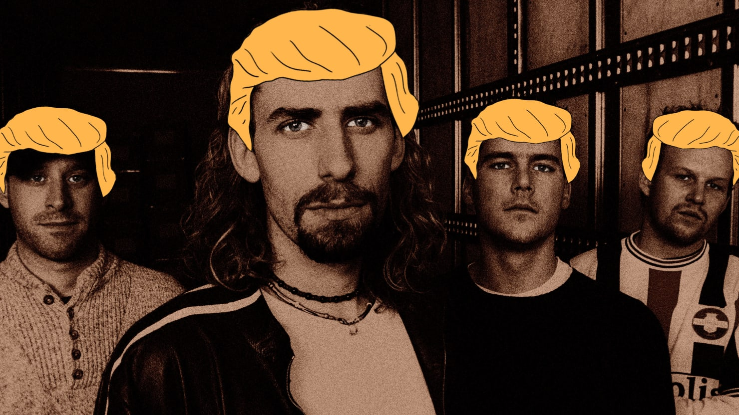 Trump Fans Are Enraged at Nickelback and Not For Their Music