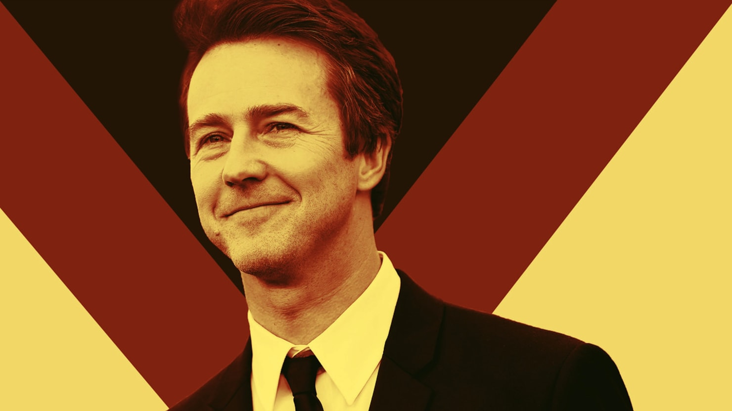 Edward Norton on Trump the 'Insane Clown Charlatan' and His Big Disagreement With Spielberg