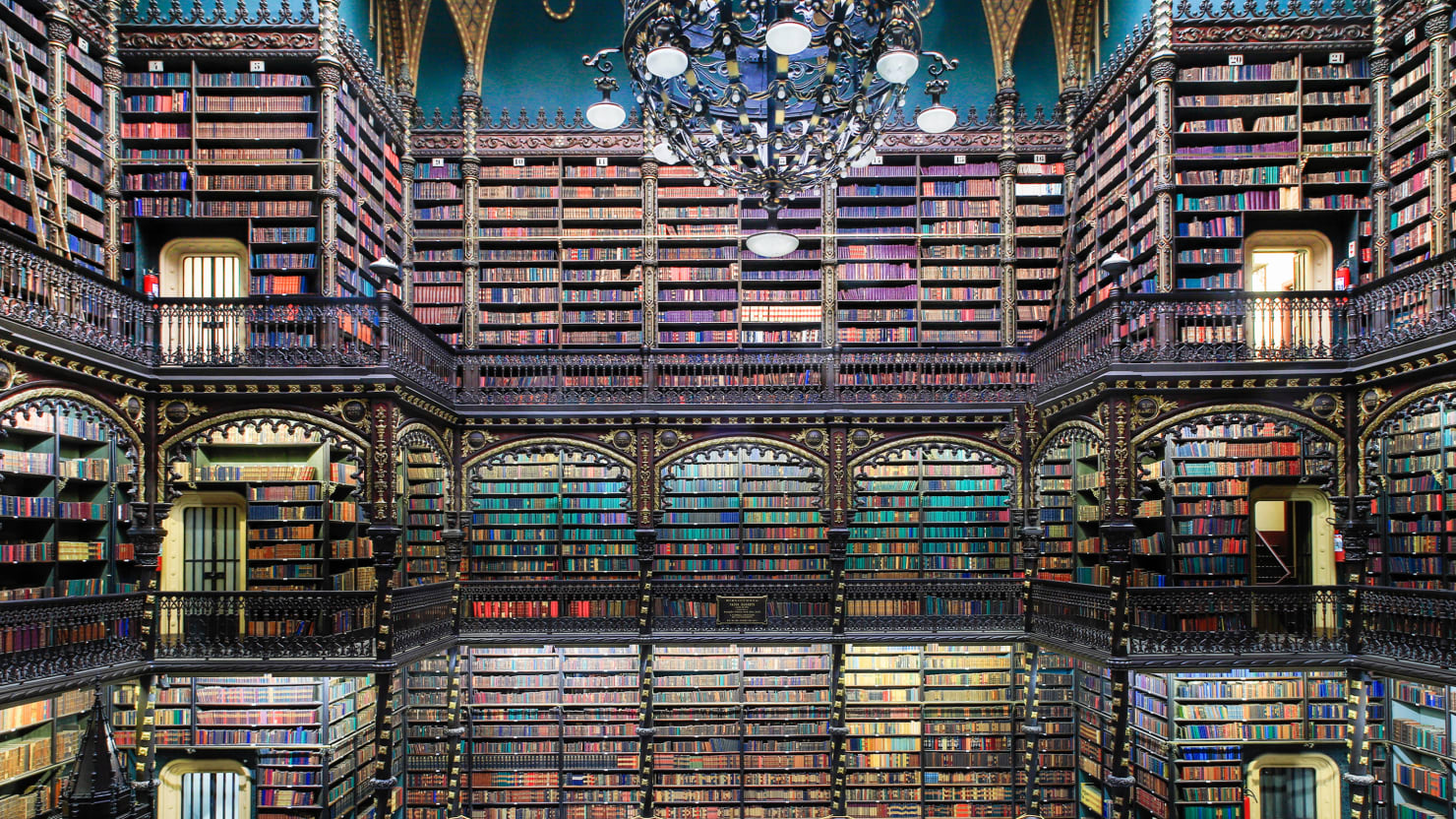 The World's Most Beautiful Libraries: Real Gabinete Português de Leitura