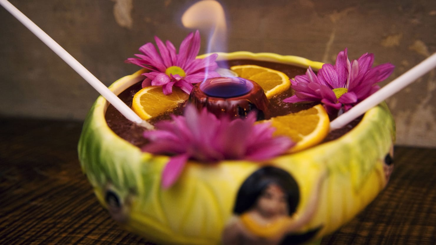 The Mysterious Origins of Tiki Classic the Scorpion Bowl