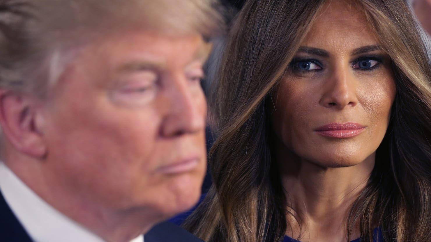 thedailybeast.com - Malcolm Jones - Is Melania Secretly the Smartest Trump?