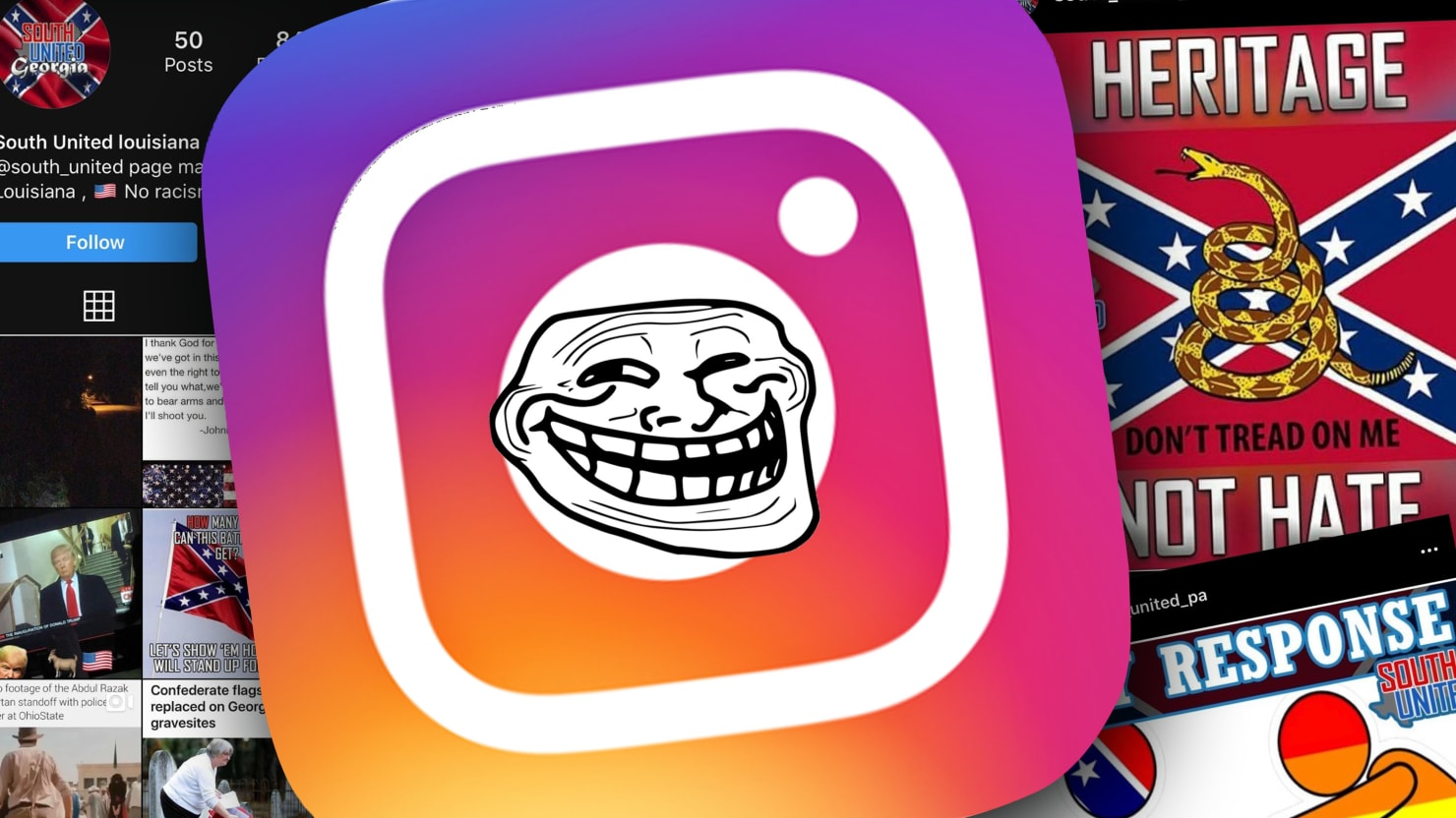 <b>Instagram</b> Won't Pull These Racist, Violent, Russian-Inspired Accounts thumbnail