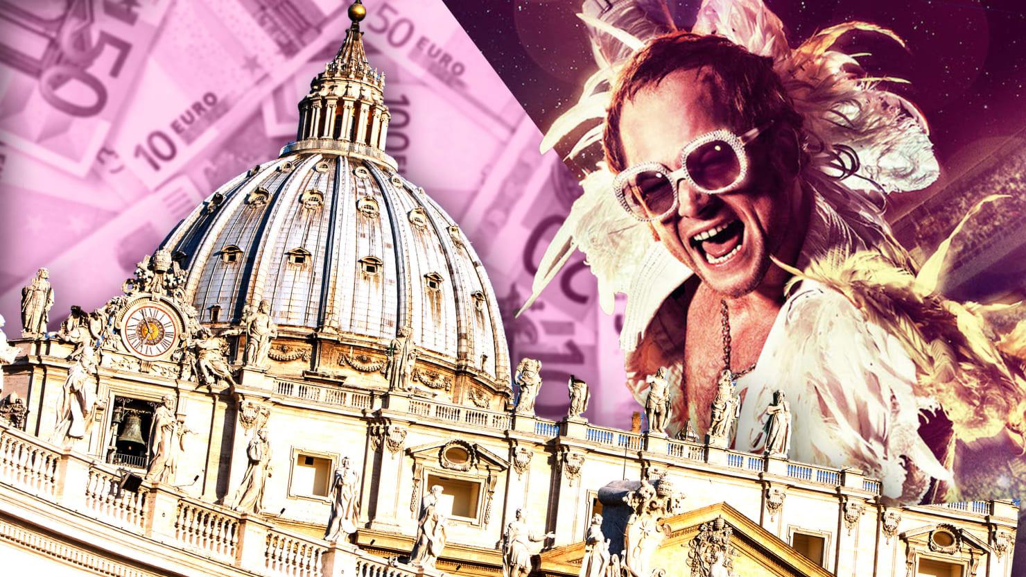 How the Vatican Spent Millions on Elton John's Biopic