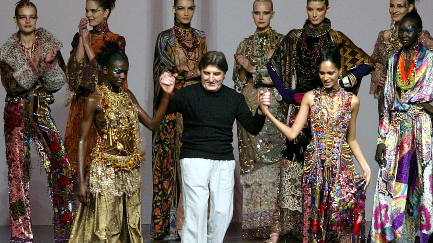 French Fashion Designer Emanuel Ungaro Dead At 86