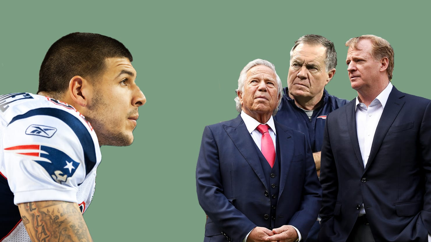 'Killer Inside' Claims the NFL and New England Patriots Were Complicit in Aaron Hernandez's Dark Turn