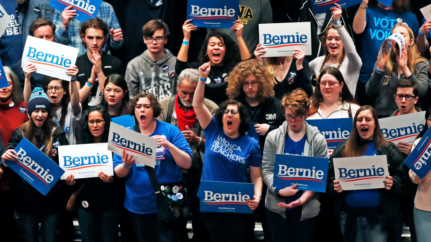 Bernie Sanders' Iowa Army Is 'Effing Pumped'