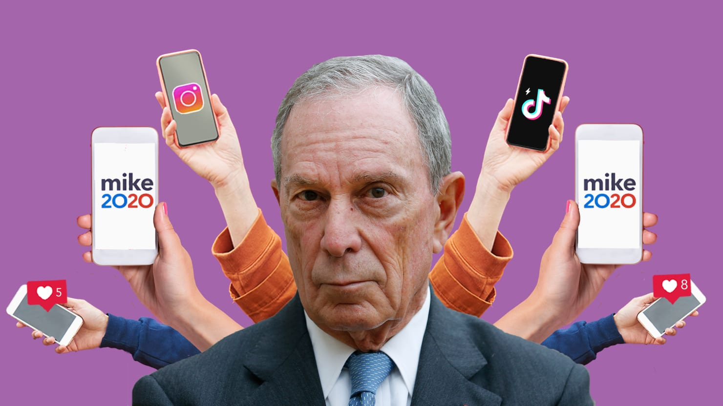 Mike Bloomberg Is Paying 'Influencers' to Make Him Seem Cool