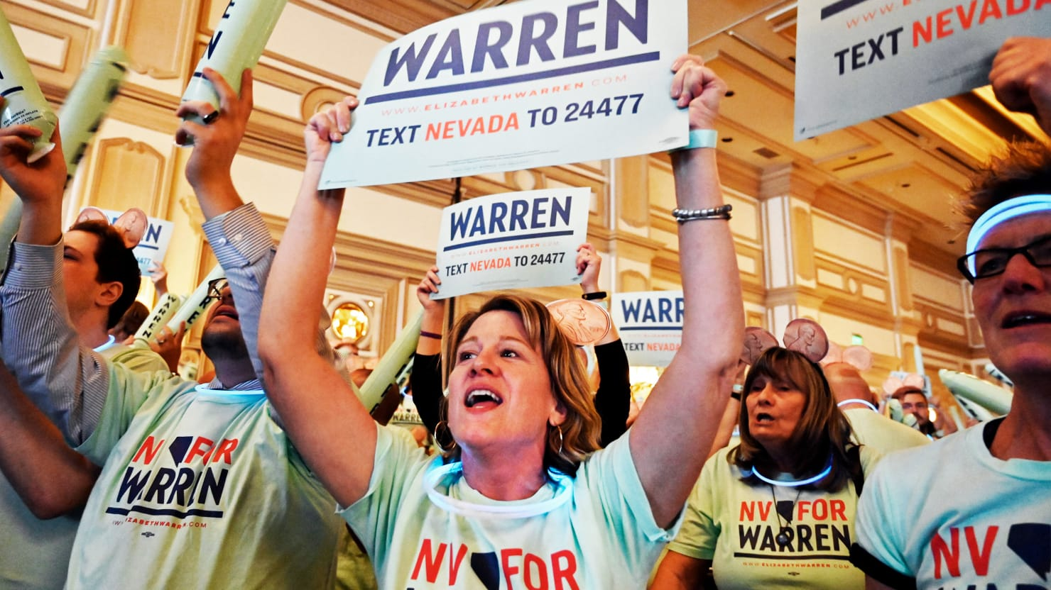 Nevada Is Do-Or-Die for Elizabeth Warren—'If She Can Even Make It Here'