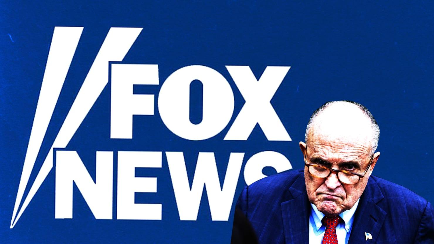 Fox News Keeps Rudy Giuliani on Air Despite Internal 'Disinformation' Docs
