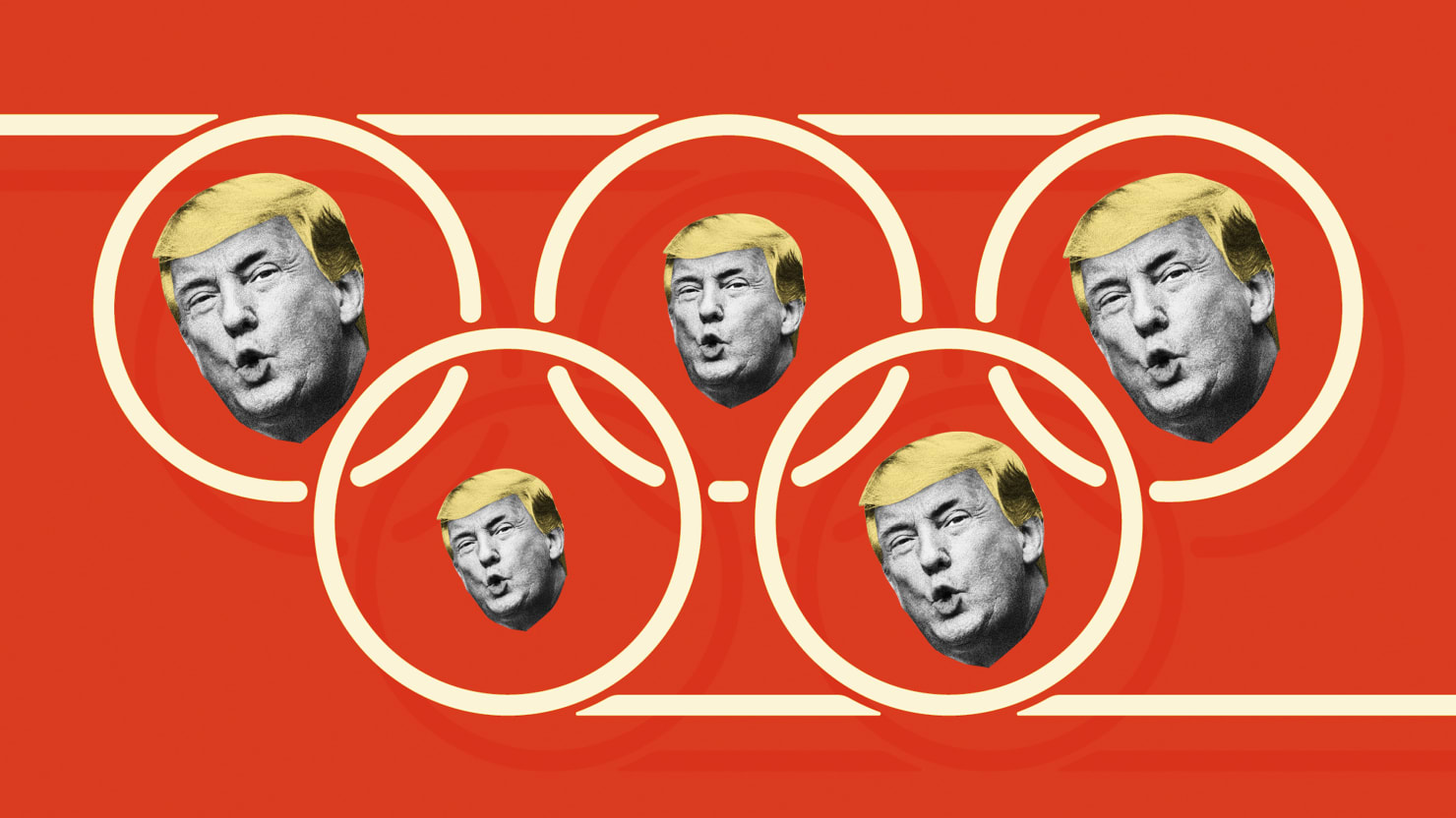 Trump Confesses to Just How Bigly the Olympics F*cks the Poor