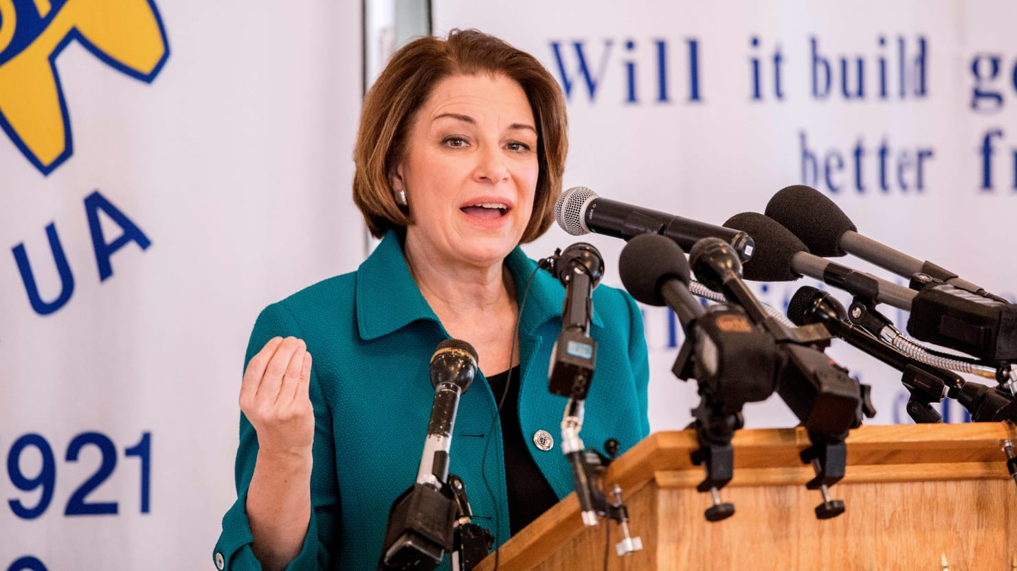 How Amy Klobuchar's Signature Bill Became a Disaster For Her Own Party
