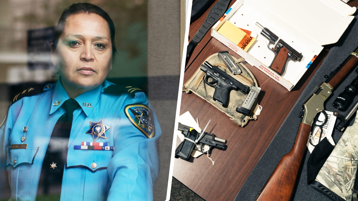 A Small-Town Cop's Fight to Stop Angry Men With Guns From Killing Women