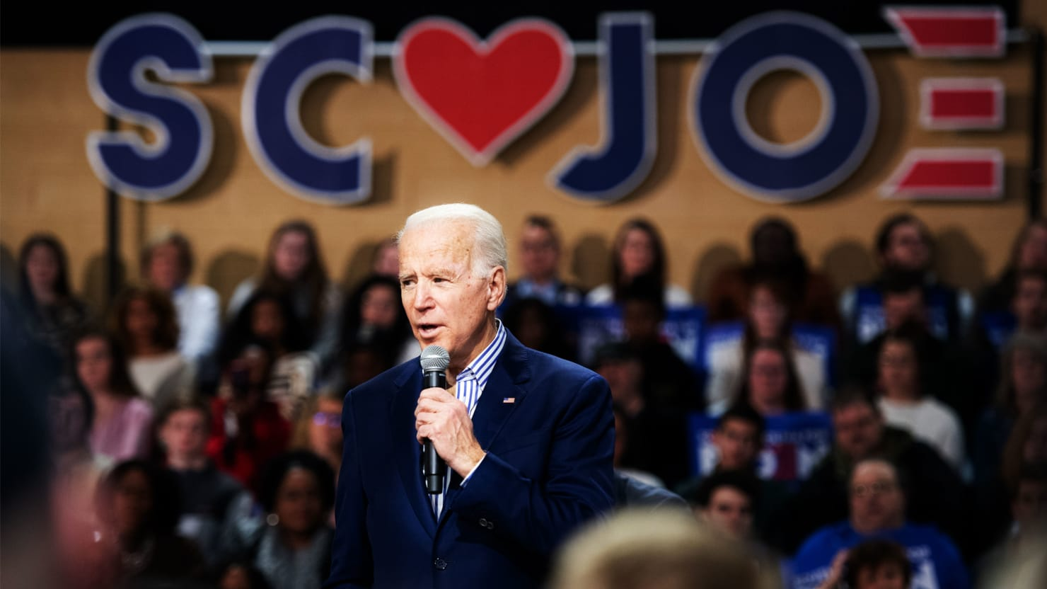 There's an Unexpected Feeling at a Biden Rally: Jubilance
