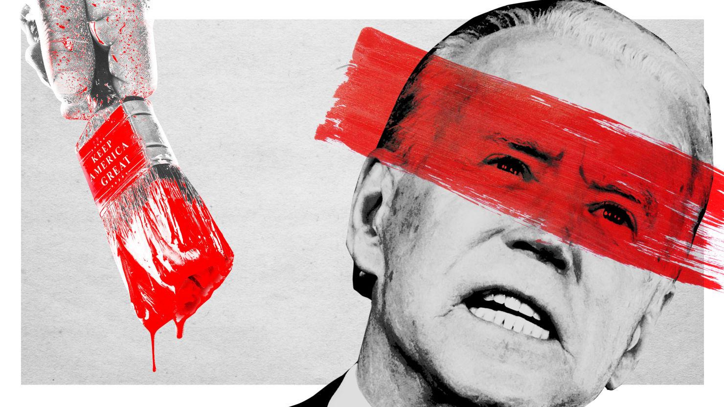 Biden's Leftist Critics' Trump-y Play: Paint Joe as Senile