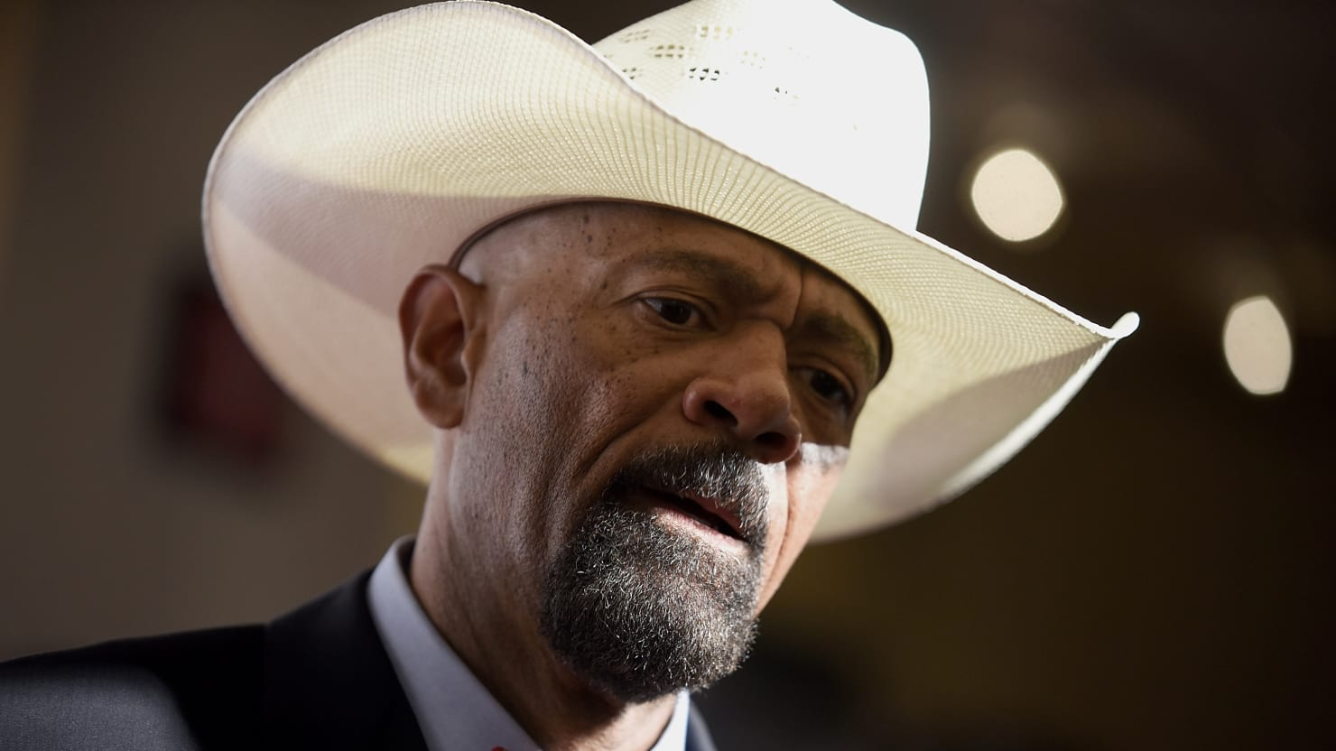 Twitter Deleted Sheriff Clarke's Wildly Reckless Coronavirus Tweets, So He Says He's Quitting