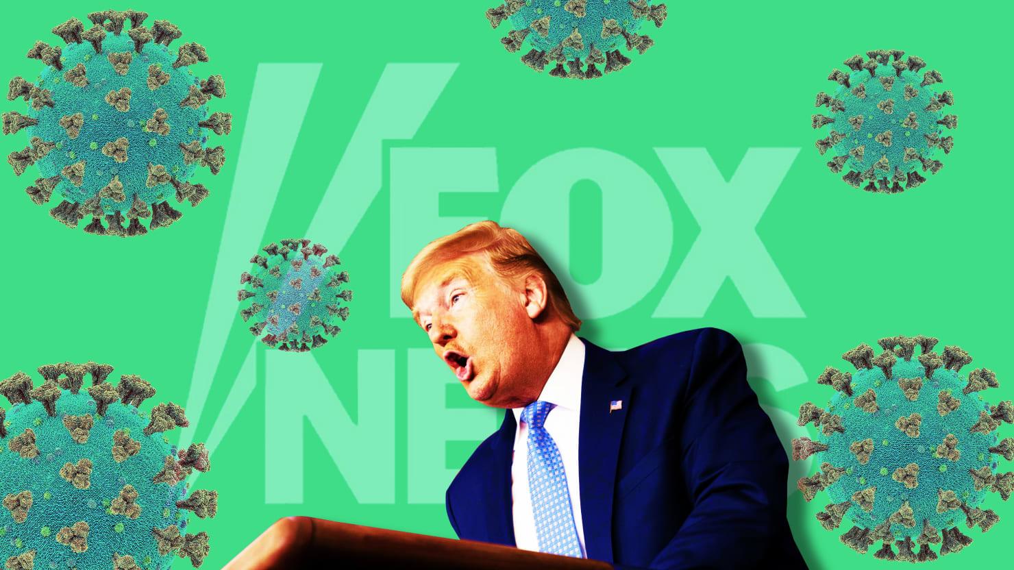 'Hoax' Is So Last Week. Now Fox Praises Trump for Virus Emergency.