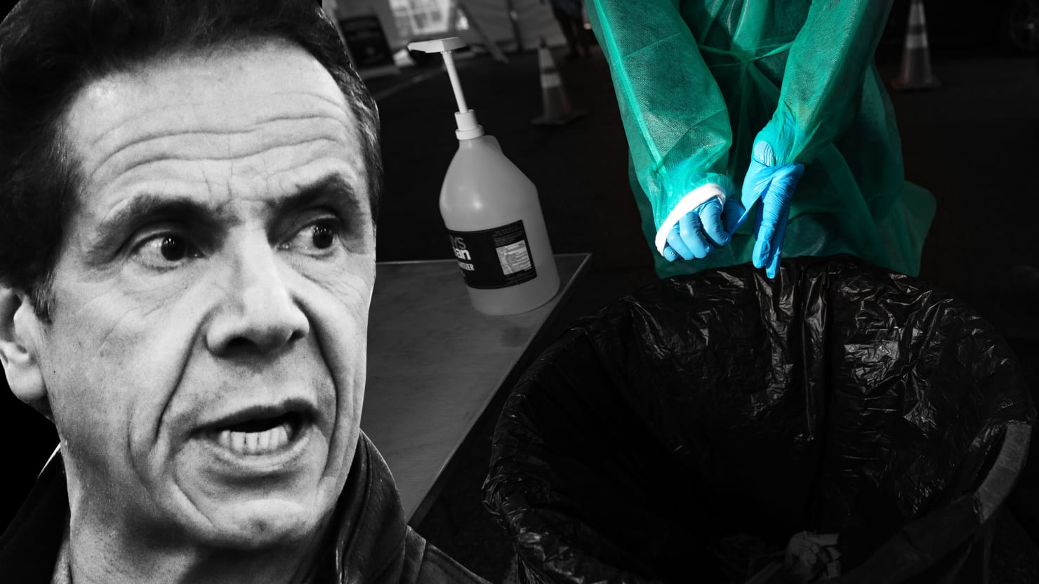 Docs Buck Bosses to Beg Cuomo for Coronavirus Protective Gear