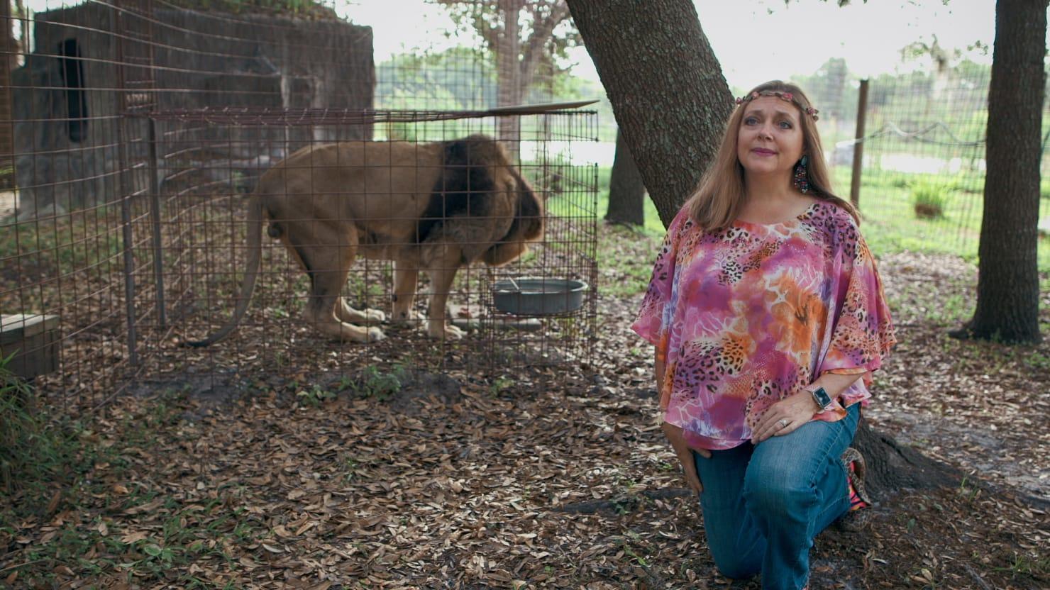 'Tiger King's' Carole Baskin Denies Murdering First Husband, Mincing Him and Feeding Him To Big Cats