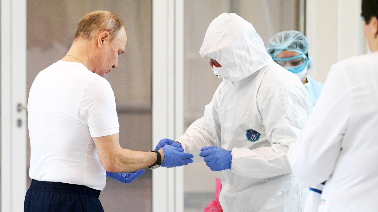 Russian State Media Tries to Clean Up Putin's Coronavirus Aid Stunt