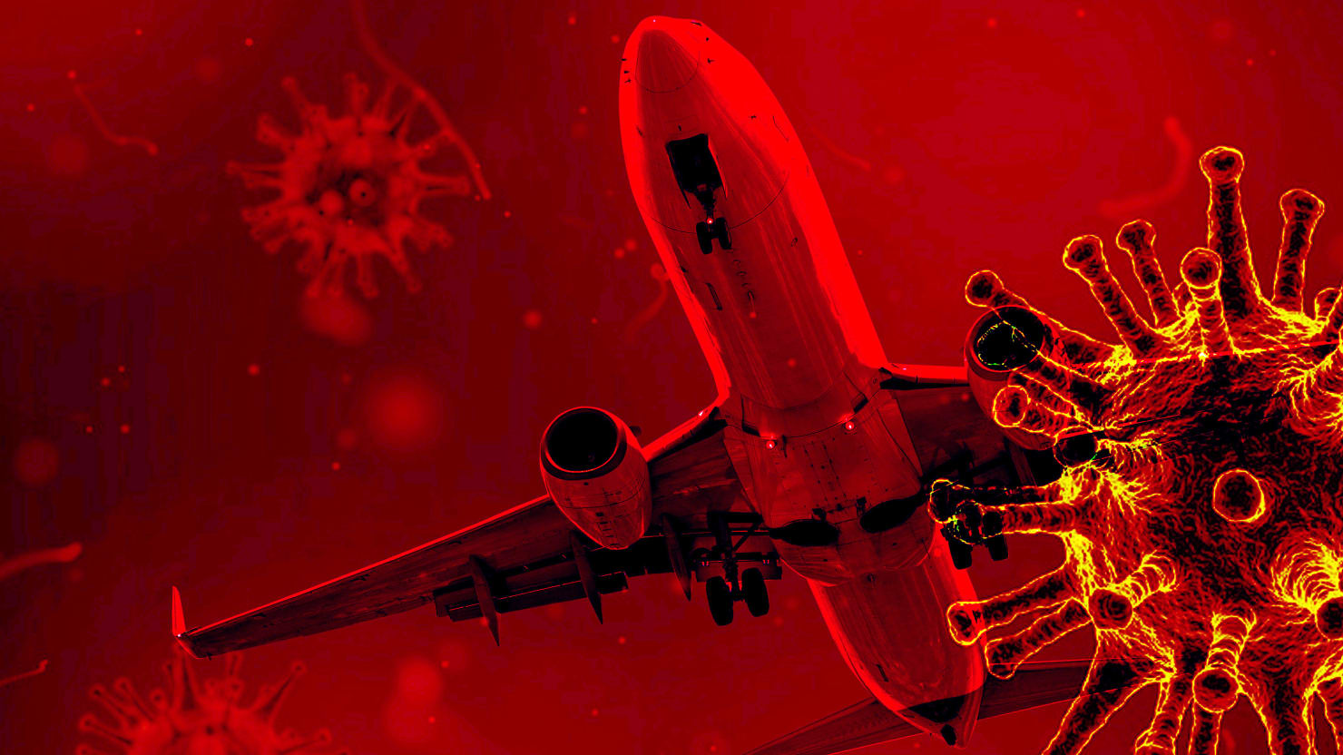 Flying Through the Pandemic—High Anxiety at 35,000 Feet